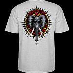 Powell Peralta Vallely Elephant T-shirt Grey