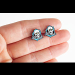 Powell Peralta Ripper Earrings Blue