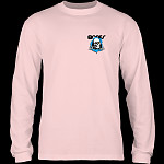 Powell Peralta Ripper YOUTH L/S T-shirt - Light Pink