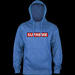 Powell Peralta Supreme Midwieght Hooded Sweatshirt - Royal Heather