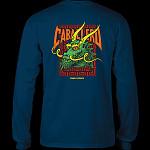Powell Peralta Caballero Sreet Dragon L/S Shirt Navy