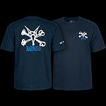 Powell Peralta Rat Bones YOUTH T-shirt - Navy