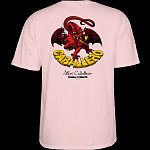 Powell Peralta Steve Caballero Dragon II T-shirt Light Pink