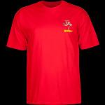 Powell Peralta Skateboarding Skeleton YOUTH T-shirt - Red