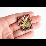 Powell Peralta Steve Caballero Street Dragon Lapel Pin