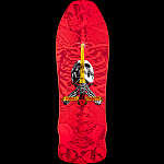 Powell Peralta Geegah Skull and Sword Skateboard Deck Pink - 9.75 x 30