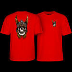 Powell Peralta Andy Anderson Skull T-Shirt - Red