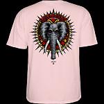 Powell Peralta Vallely Elephant T-Shirt Light Pink