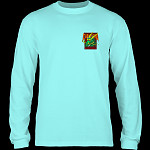 Powell Peralta Caballero Street Dragon L/S Shirt Celadon