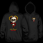 Powell Peralta McGill Skull and Snake Hooded Sweatshirt Black