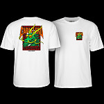 Powell Peralta Steve Caballero Street Dragon T-shirt - White