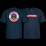 Powell Peralta Supreme T-shirt - Navy