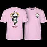 Powell Peralta Mike McGill Skull & Snake T-shirt - Light Pink