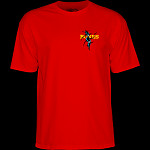 Powell Peralta Shred T-shirt - Red