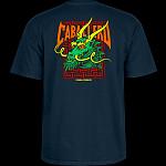 Powell Peralta Steve Caballero Street Dragon T-shirt - Navy