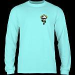 Powell Peralta McGill Skull & Snake L/S Shirt Celadon