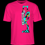 Powell Peralta Ray Barbee Rag Doll T-Shirt Hot Pink