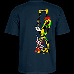 Powell Peralta Ray Barbee Rag Doll T-Shirt Navy
