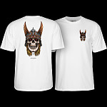 Powell Peralta Andy Anderson Skull T-shirt - White