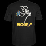 Powell Peralta Skateboarding Skeleton T-shirt - Black