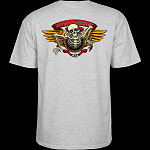 Powell Peralta 40th Anniversary Winged Ripper T-shirt Gray