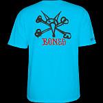 Powell Peralta Rat Bones YOUTH T-shirt - Turquoise