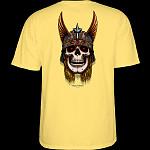 Powell Peralta Andy Anderson Skull T-Shirt - Banana