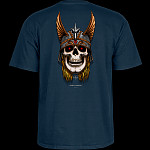 Powell Peralta Andy Anderson Skull T-Shirt - Navy