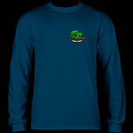 Powell Peralta Oval Dragon YOUTH L/S - Navy