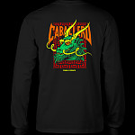 Powell Peralta Caballero Sreet Dragon L/S Shirt Black