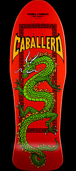 Powell Peralta Cab Chinese Dragon Skateboard Deck - 10 x 30