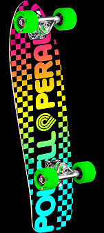 Powell Peralta Checker Cruiser 274 Skateboard Assembly - 8.24 x 25.38