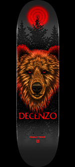 Powell Peralta Pro Scott Decenzo Bear 2 Skateboard Deck - Shape 248 - 8.25 x 31.95