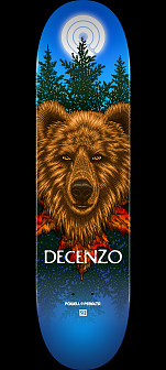 Powell Peralta Pro Scott Decenzo Bear Skateboard Deck - Shape 247 - 8 x 31.45