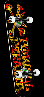 Powell Peralta Vato Rat Leaves Birch Complete Skateboard - 7.5 x 28.65