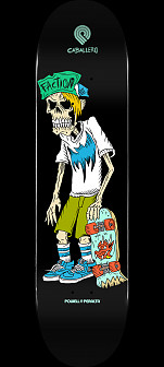 Powell Peralta Steve Caballero Faction Skateboard Deck - Shape 243 - 8.25 x 31.95