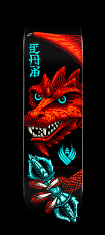 Powell Peralta Pro Steve Caballero Dragon Wing Flight® Skateboard Deck Shape 243 -  8.25x 31.95