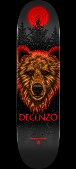 Powell Peralta Pro Scott Decenzo Bear Skateboard Blem Deck - 8.25 x 31.95