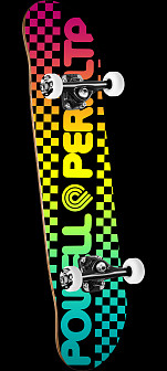 Powell Peralta Checker Colby Fade Complete Skateboard - 7.75 x 31.75