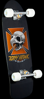 Bones Brigade Hawk Series 4 Skateboard Complete Black - 10 x 30.05