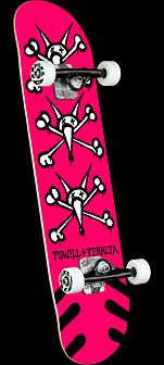 Powell Peralta Vato Rats Pink Birch Complete Skateboard - 7 x 28