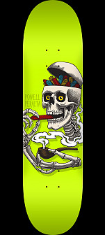 Powell Peralta Curb Skelly Skateboard Deck Lime - 8.5 x 32.08