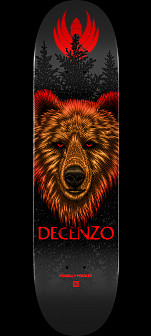 Powell Peralta Pro Scott Decenzo Bear 2 Flight® Skateboard Deck - Shape 248 - 8.25 x 31.95 - Limit one per Customer