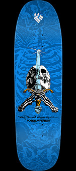 Powell Peralta Skull and Sword Flight Skateboard Deck - 9.265 x 32