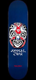 Powell Peralta Chin Mask Skateboard Deck Navy - 8 x 32.125