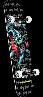 Powell Peralta Cab Dragon Black Birch Complete Skateboard - 7.75 x 31.08