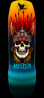 Powell Peralta Pro Andy Anderson Crane Flight® Skateboard Deck - 9.13 x 32.8