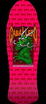 Powell Peralta Pro Steve Caballero Street Skateboard Deck Hot Pink - 9.625 x 29.75
