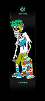 Powell Peralta Pro Steve Caballero Faction Flight® Skateboard Deck Shape 243 -  8.25x 31.95