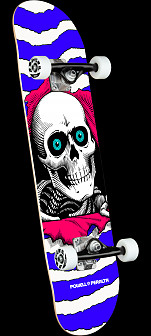 Powell Peralta Ripper One Off Purple Birch Complete Skateboard - 7.75 x 31.08